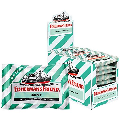 FISHERMANS FRIEND GREEN 25 g